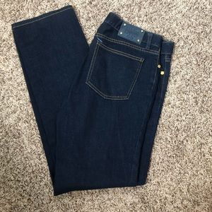 Like New Tory Burch Straight Leg Jeans